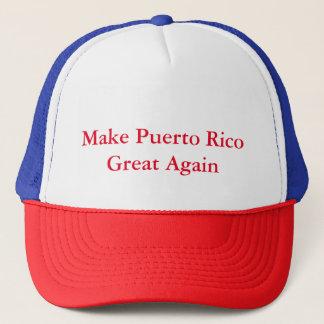 Boné Faça o excelente de Puerto Rico outra vez