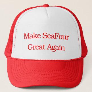 Boné Faça o excelente de SeaFour outra vez
