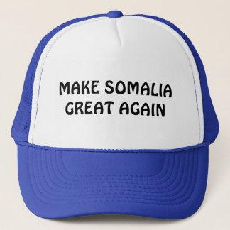 Boné Faça o excelente de Somália outra vez
