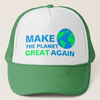 Boné Faça o excelente do planeta outra vez
