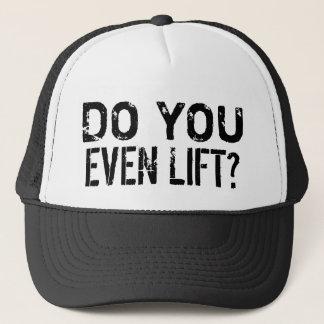 Boné Faça-o mesmo exercício do GYM do elevador