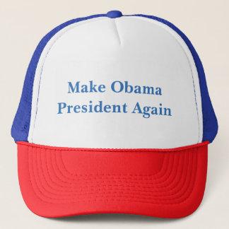 Boné Faça o presidente Outra vez Chapéu de Obama