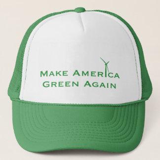 Boné Faça o verde de América outra vez