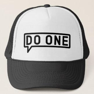 Boné Faça um, chapéu nativo de Manchester do camionista