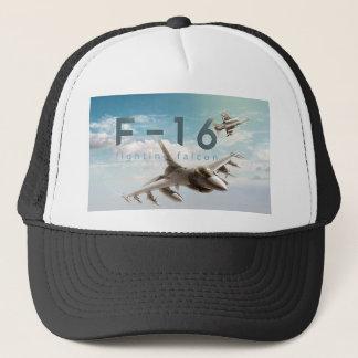 Boné Falcão F-16 de combate