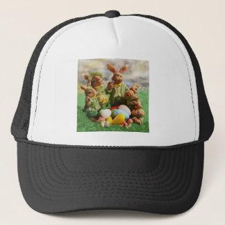 Boné Família do coelhinho da Páscoa