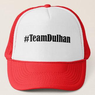 Boné Família #TeamDulhan do chapéu da noiva