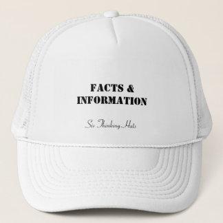 Boné Fatos & informação, seis chapéus de pensamento
