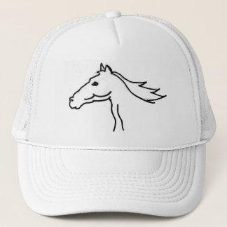 Boné FB chapéu do desenho da silhueta do cavalo