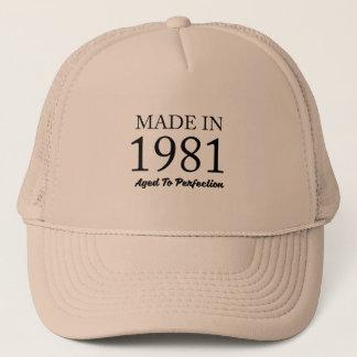 Boné Feito em 1981