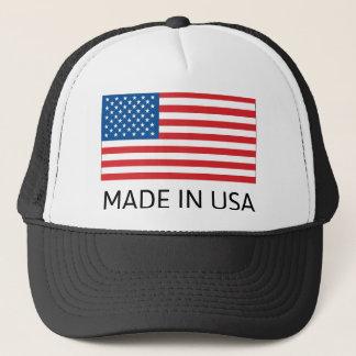 Boné Feito na bandeira dos EUA