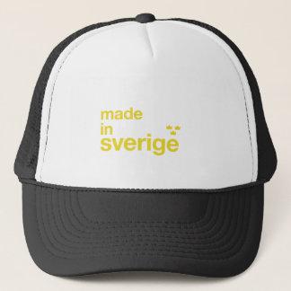 Boné Feito na suecia & no Kronor de Tre/três coroas