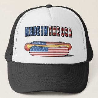 Boné Feito no cachorro quente patriótico dos EUA