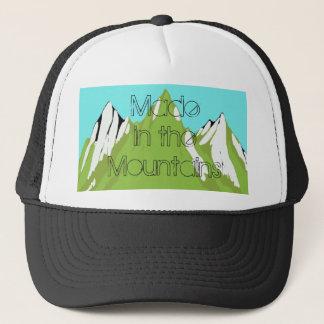 Boné Feito no chapéu do camionista da montanha