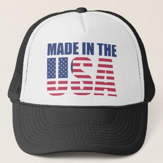 Boné Feito no chapéu do camionista dos EUA