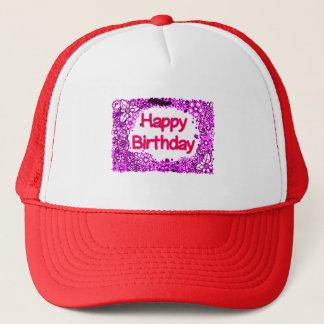 Boné Feliz aniversario