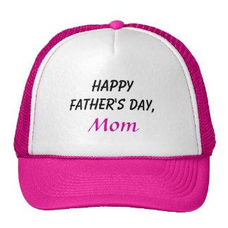 Boné feliz da mamã do dia dos pais