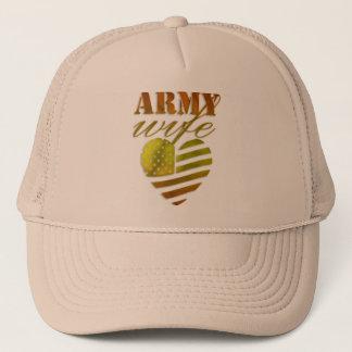 "Boné feminino ""ARMY Wife"""