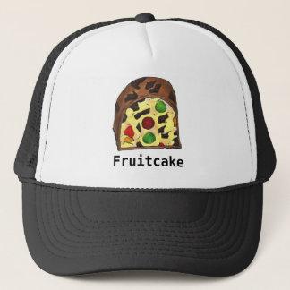 Boné Feriado da comida da fatia do Fruitcake do bolo da