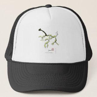 Boné fernandes tony sakura e pássaros verdes