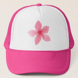 Boné festa de solteira cor-de-rosa da aguarela da flor