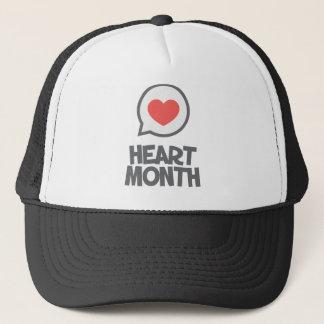 Boné Fevereiro - mês do coração - dia da apreciação