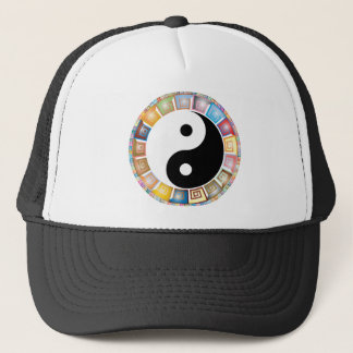 Boné filosofia asiática oriental de yang do yin