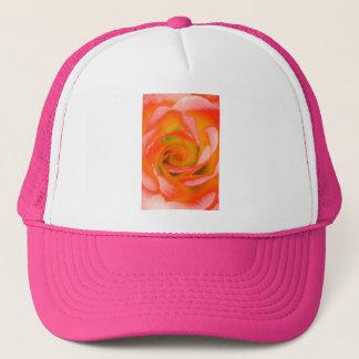Boné Fim-acima cor-de-rosa da laranja