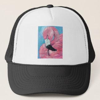 Boné Flamingo cor-de-rosa