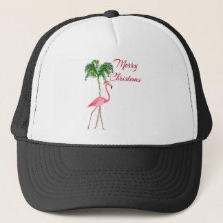 Boné Flamingo do Feliz Natal