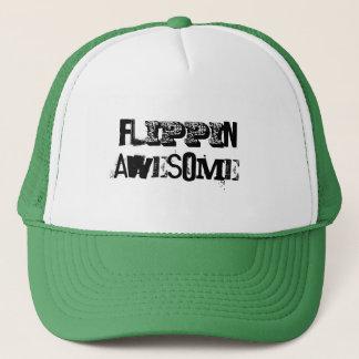 Boné Flippin impressionante!