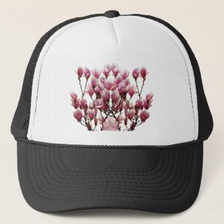 Boné Flor cor-de-rosa de florescência do primavera das