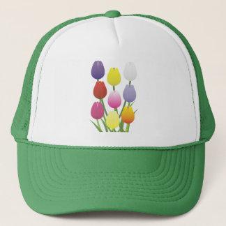 Boné Flor da tulipa