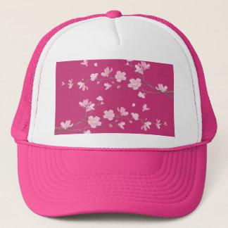 Boné Flor de cerejeira - magenta