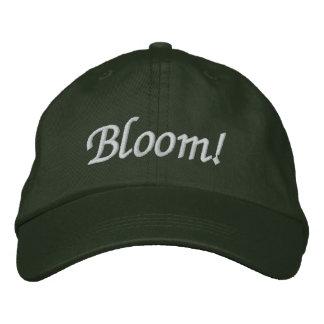 Boné Flor! O chapéu do jardineiro