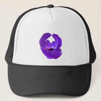 Boné Flor roxa 201711h do abstrato do hibiscus