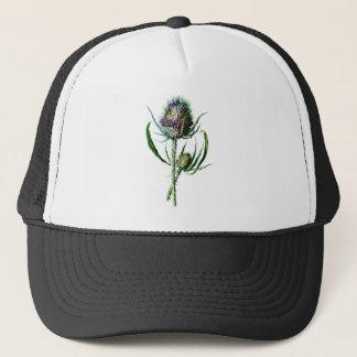 Boné Flor selvagem da antiguidade do cardo do Scottish