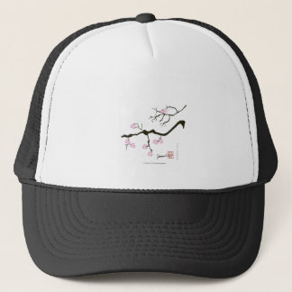 Boné flor tony de sakura dos fernandes e pássaro