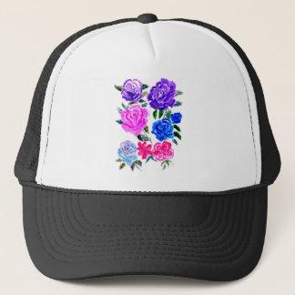 Boné Flores coloridas Art7