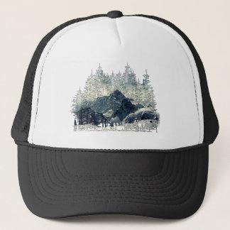 Boné Floresta do inverno