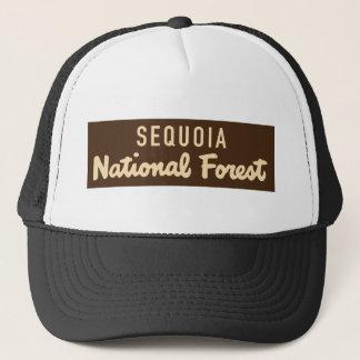 Boné Floresta nacional da sequóia