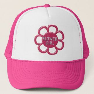 Boné Florista cor-de-rosa do brilho