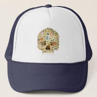 Boné Flowers & Skull