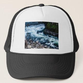 Boné fluxo do branco do rio