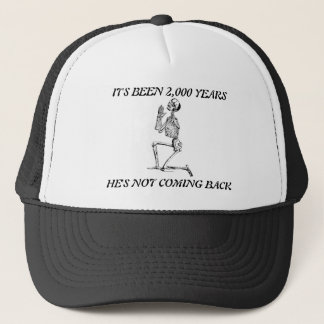 Boné Foi 2.000 anos de chapéu