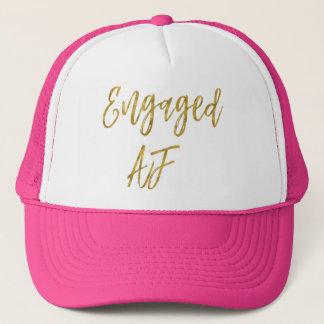 Boné Folha de ouro contratada do AF e chapéu branco do