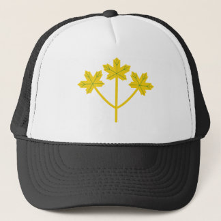 Boné Folhas de bordo do ouro de Ontário