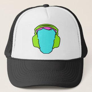Boné Fones de ouvido vestindo-se coloridos
