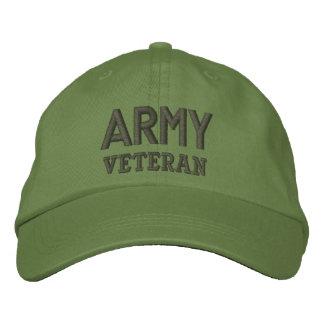 Boné Forças armadas do veterano do exército