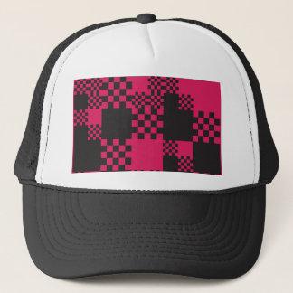 Boné forma do bloco quadrado do cubo criativa